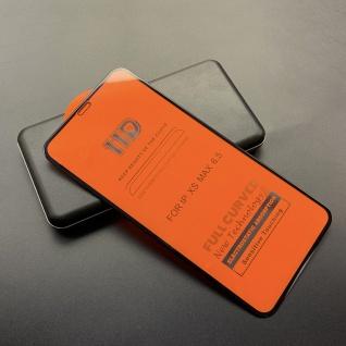 Premium 11D Hartglas Schwarz Folie Panzer für Apple iPhone XS Max Schutz Neu