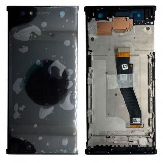 Sony Display LCD Komplett mit Rahmen für Xperia XA2 Ultra Schwarz Ersatz Neu Top
