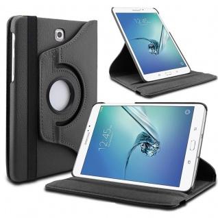 Schutzhülle 360 Grad Schwarz Tasche für Samsung Galaxy Tab S3 9.7 T820 T825 Case