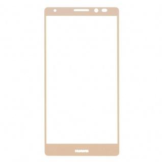 Full Hartglas 0, 26 mm dünne H9 Schock Gold für Huawei Mate 8 Hülle Schutz Neu