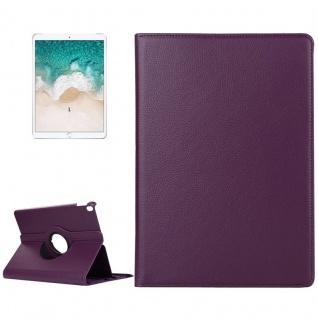 Schutzhülle 360 Grad Lila Case Cover Etui Tasche für Apple iPad Pro 10.5 2017