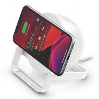 Belkin 10W Wireless Charger plus Lautsprecher für Apple und Samsung Smartphones