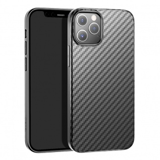 HOCO Apple iPhone 12 Mini Carbon Schutzhülle Schwarz Case Cover Hülle Etui