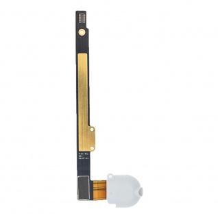 Aux Kopfhörer Buchse Flex für Apple iPad 10.2 / iPad 8 LTE Ersatzteil Weiß
