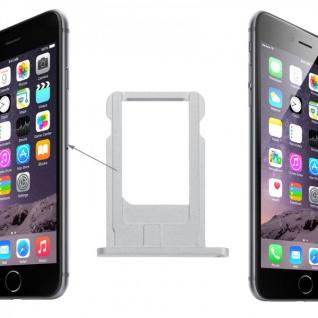 Sim Karten Halter Adapter Silber Sim Tray für Apple iPhone 6 4.7 und 6 Plus 5.5