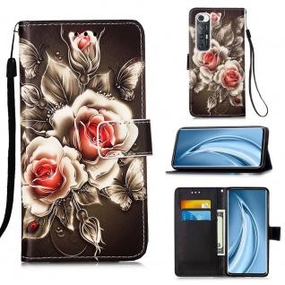 Für Xiaomi Mi 10S Kunst-Leder Handy Tasche Motiv 3 Hülle Case Etuis Schutz Cover