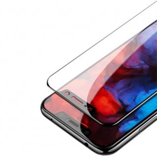 Für Huawei P Smart 2019 1x 3D Display 0, 3 mm H9 Hart Glas Schwarz Folie Schutz