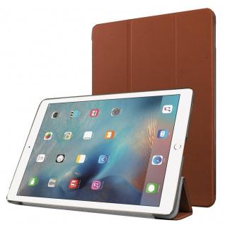 Smartcover Braun Cover Tasche für NEW Apple iPad 9.7 2017 Hülle Etui Case Neu