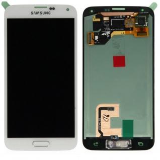 Display Full LCD Komplettset Weiß für Samsung Galaxy S5 G900 / S5 Plus G901F Neu