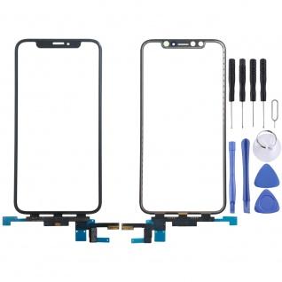 Reparatur Displayglas Touch Screen für Apple iPhone XS 5.8 LCD Schwarz Ersatz
