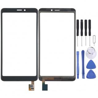 Reparatur Displayglas Touch Screen für Wiko Y60 LCD Schwarz Ersatz Display Neu
