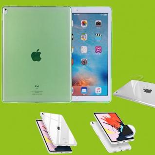 Für Apple iPad Pro 12.9 Zoll 2018 Grün Tasche Hülle Case Cover TPU Silikon dünn