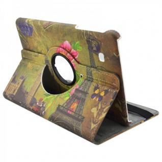 Schutzhülle 360 Grad Muster 34 Tasche für Samsung Galaxy Tab E 9.6 T560 Hülle