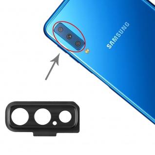 Cam Lens für Samsung Galaxy A7 2018 Schwarz Kamera Linse Schutz Ersatz Reparatur