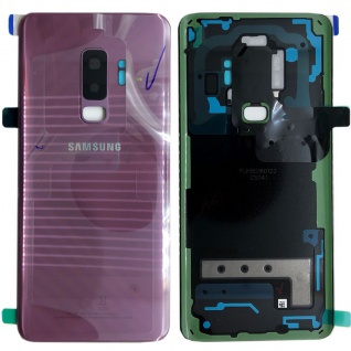 Samsung GH82-15652B Akkudeckel Deckel für Galaxy S9 Plus G965F Klebepad Lila Neu
