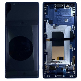 Sony Display LCD für 1319-9384 Xperia 5 J8210 J9210 Reparatur Ersatzteil Blau