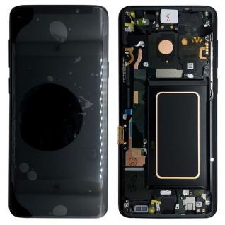 Samsung Display Full LCD Komplettset GH97-21696A Schwarz für Galaxy S9 G960F FD