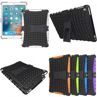 Hybrid Outdoor Schutzhülle Cover Weiß für iPad Pro 9.7 Zoll Tasche Case Hülle