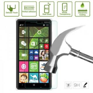 Premium 0, 3 mm Panzerfolie Schock Folie für Nokia Lumia 830 Zubehör stabil Neu - Vorschau 2