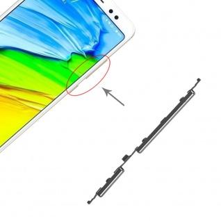 Power Volume Button Schwarz für Xiaomi Note 5 / Pro Lautstärke On Off Ersatzteil
