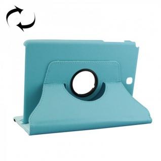 Schutzhülle 360 Grad Hellblau Tasche für Samsung Tab A 9.7 T555 T555N T550 Hülle