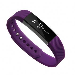 Für Fitbit Alta HR Kunststoff / Silikon Armband für Frauen / Größe S Lila Uhr