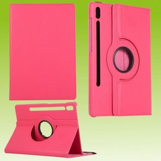 Für Samsung Galaxy Tab S7 T870 Tablet Tasche Hülle Case Etuis Schutz Pink Cover