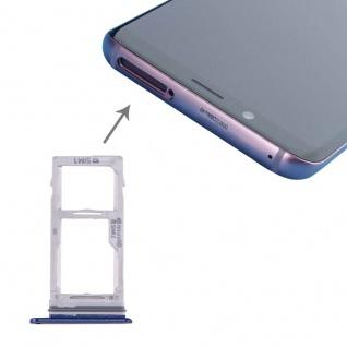Für Samsung Galaxy S9 G960 / S9 Plus G965 Simkarten Halter Sim Tray SD Card Blau