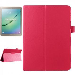 Schutzhülle Pink Tasche für Samsung Galaxy Tab S2 9.7 SM T810 T815N Hülle Case