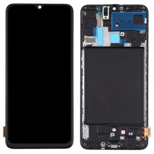Für Samsung Galaxy A70 A705F Display TFT LCD + Rahmen Touch Ersatzteil Schwarz - Vorschau 2