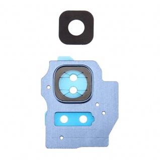 Kameraglas für Samsung Galaxy S8 Plus G955F Kamera Ring Glas Rahmen Cover Blau