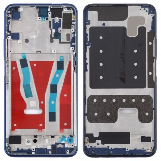 Mittelrahmen für Huawei Honor 9X Blau Middle Frame Rahmen Gehäuse Zubehör Ersatz