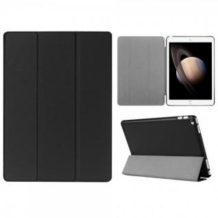 Smartcover Schwarz Cover Tasche für Apple iPad Pro 12.9 Zoll Hülle Etui Case Neu