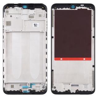 Gehäuse Rahmen Mittelrahmen Deckel für Xiaomi Redmi 9A Schwarz Ersatz Reparatur