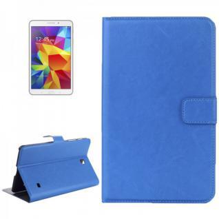 Schutz Tasche Blau für Samsung Galaxy Tab 4 8.0 SM-T330 T330 Hülle Case Neu Top