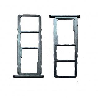 Dual SIM Micro SD Karten Halter für Nokia 5.4 Zubehör Ersatzteil Reparatur Grau
