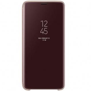 Samsung Flip Tasche Clear View EF-ZG965CFE für Galaxy S9 Plus G965F Cover Gold - Vorschau 3
