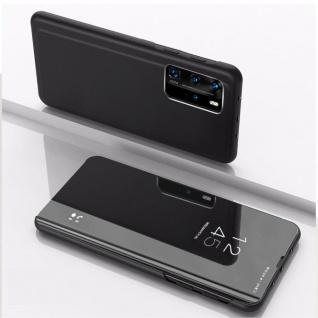 Für Xiaomi Mi 10T / 10T Pro 5G View Smart Cover Hülle Schwarz Handy Tasche Etuis