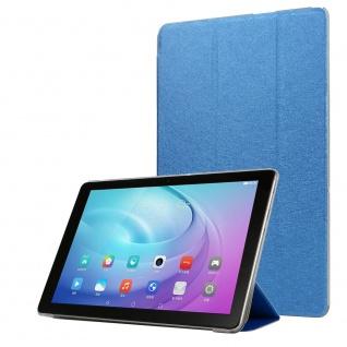 Für Samsung Galaxy Tab A7 2020 3 folt Wake UP Smart Cover Tablet Tasche Blau