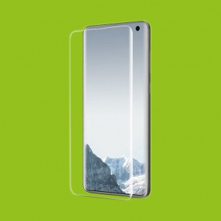 Hybrid TPU gebogene Panzerfolie Folie Schutz für Samsung Galaxy S10 G973F 6.1