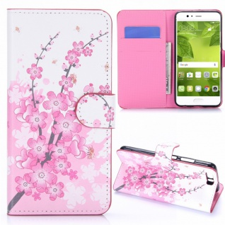 Schutzhülle Muster 23 für Huawei P10 Plus Bookcover Tasche Case Hülle Wallet Neu