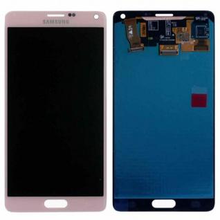 Display LCD Komplettset GH97-16565D Pink für Samsung Galaxy Note 4 N910F Ersatz