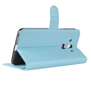 Tasche Wallet Premium Blau für Huawei Mate 10 Pro Hülle Case Cover Etui Schutz - Vorschau 4