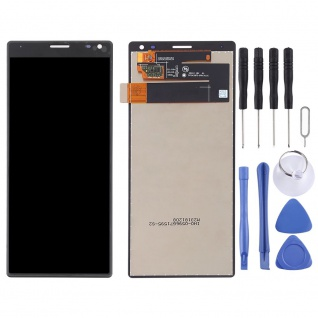 Für Sony Xperia 10 Display Full LCD Touch Screen Ersatz Teil Reparatur Schwarz