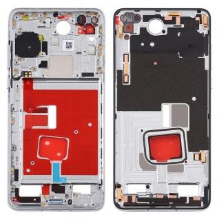 Mittelrahmen für Huawei P40 Silber Middle Frame Rahmen Zubehör Ersatzteil Neu