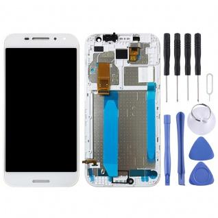 Für Vodafone Smart N8 / VFD610 Display Full LCD Einheit Touch Ersatzteil Weiß