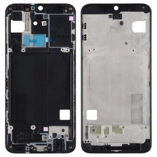 Mittelrahmen für Samsung Galaxy A40 A405F Schwarz Front Housing Frame Bezel Plate Ersatz