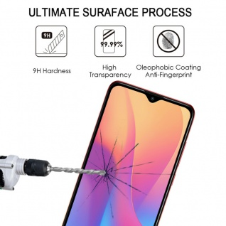 Für Xiaomi Redmi 9A 2x 3D Display Full H9 Tempered Hart Glas Schwarz Panzer Neu