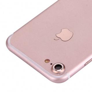 Kameraschutz für Apple iPhone 7 4, 7 Kamera Schutz Kameraring Cam Protector Rose