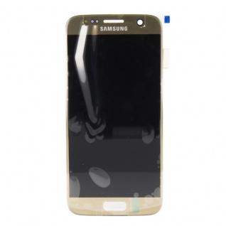 Display Full LCD Komplettset GH97-18523C Gold für Samsung Galaxy S7 G930 G930F - Vorschau 2